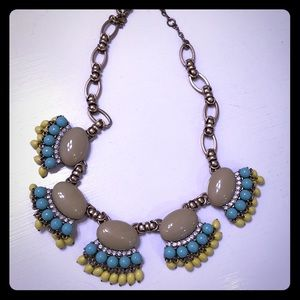 J Cree Bright stones necklace